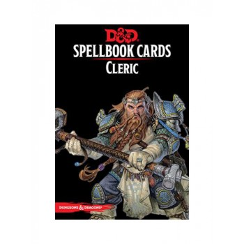 D&D Spellbook Cards - Cleric 149 Cards