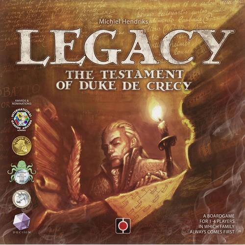 Legacy The Testament of Duke de Crecy cod 5908310266664