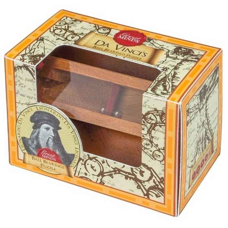 Da Vinci's Ball Bearings Puzzle