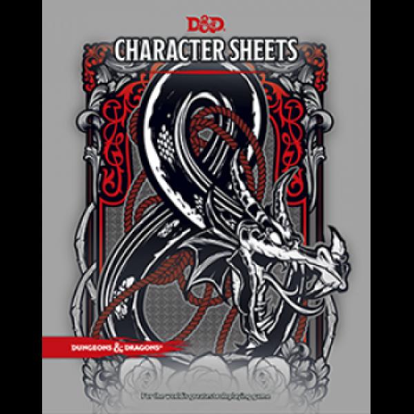D&D RPG - Charater Sheets - EN cod 9780786966189