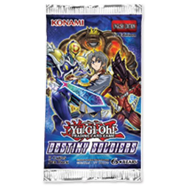 YU-GI-OH Destiny Soldiers Booster cod 4012927541579