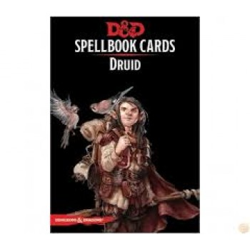 D&D Spellbook Cards - Druid 131 Cards