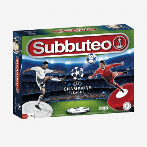 Subbuteo Playset UEFA Champions League Official Edition cod 8437013481137