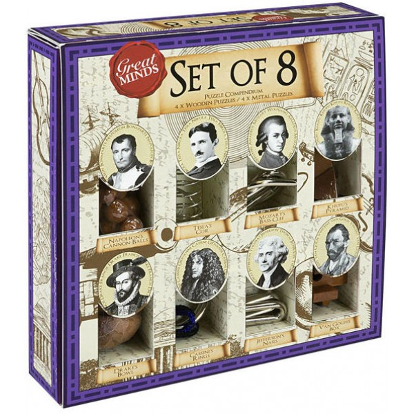 Great Minds - set of 8 cod 5060036537258