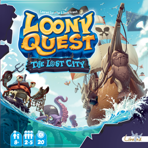 Loony Quest Lost City cod 3558380033554