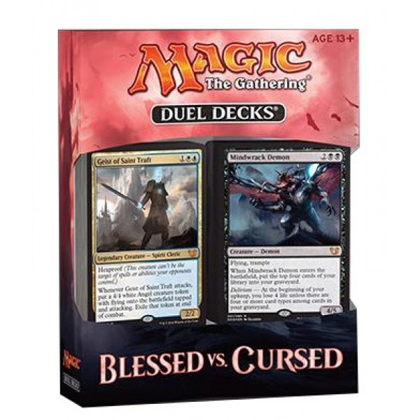 DUEL DECKS: BLESSED VS CURSED cod 630509393855