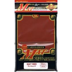 KMC STANDARD SLEEVES MAT RED 80