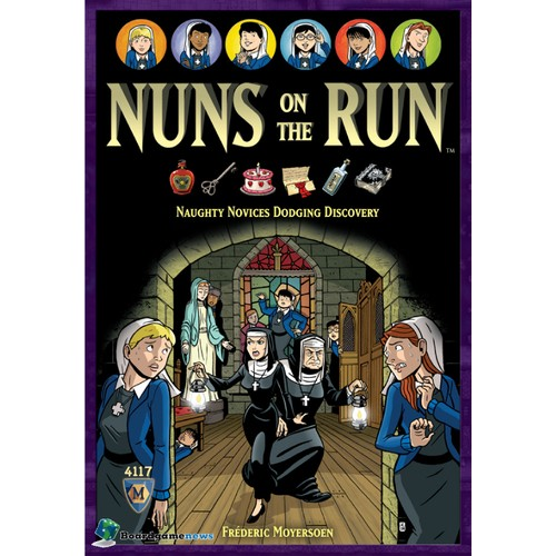 NUNS ON THE RUN cod 029877041176