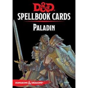 D&D Spellbook Cards - Paladin 69 Cards