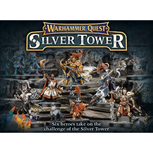Warhammer Quest Silver Tower cod 5011921072842