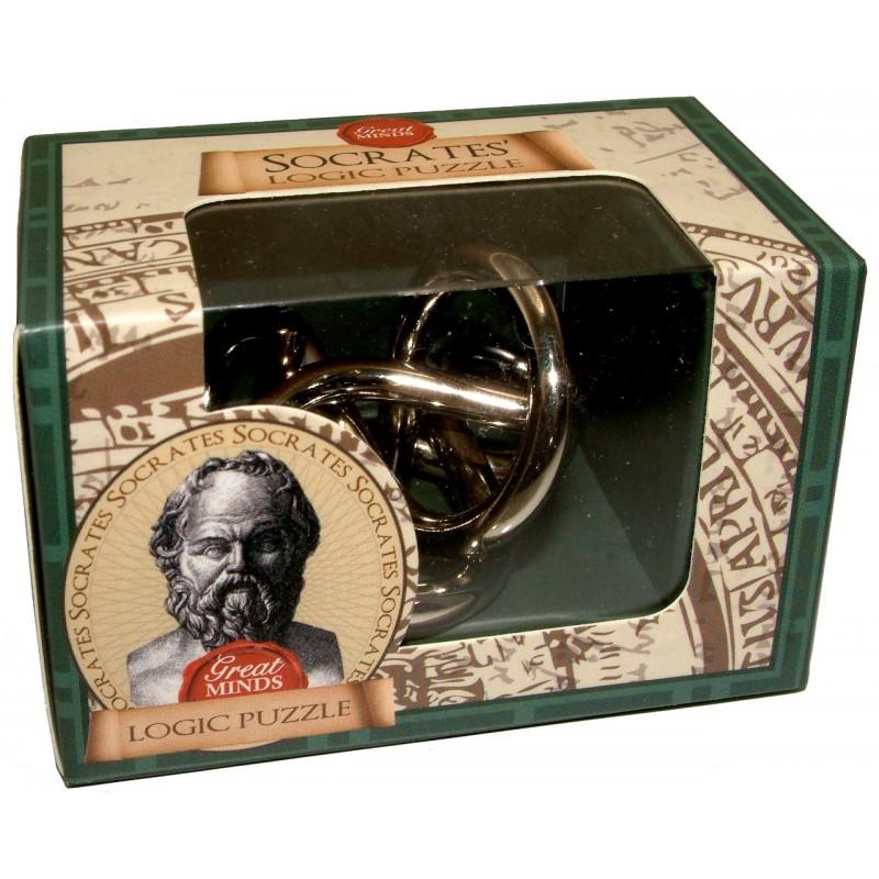 Socrates Logic mini metal puzzle