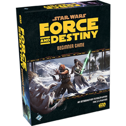 STAR WARS FORCE AND DESTINY BEGINNER GAME cod 9781633441088