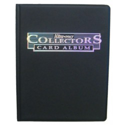 9-POCKET PORTFOLIO: COLLECTOR'S SERIES - BLACK