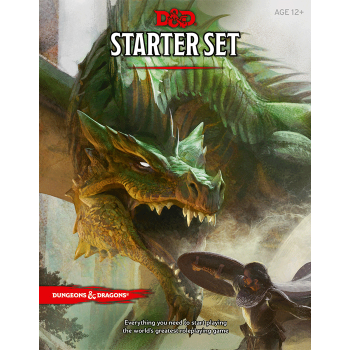 DUNGEONS AND DRAGONS RPG STARTER SET cod 9780786965595