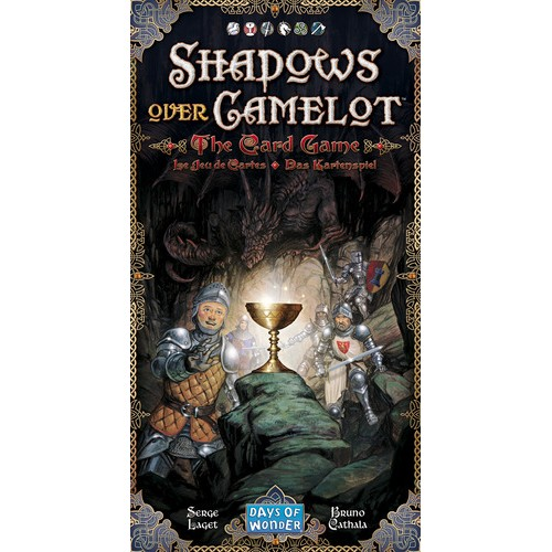 SHADOWS OVER CAMELOT: THE CARD GAME cod 824968819746