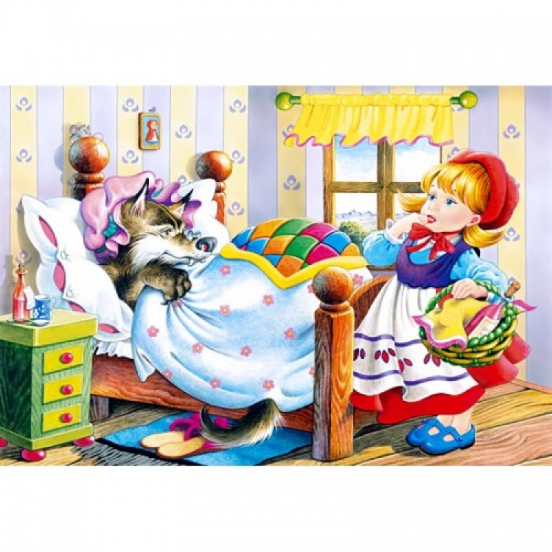 PUZZLE LITTLE RED RIDING HOOD