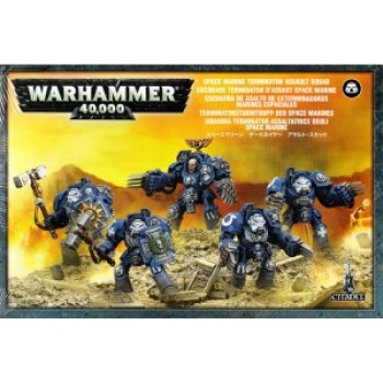 SPACE MARINE TERMINATOR ASSAULT SQUAD cod 5011921914364