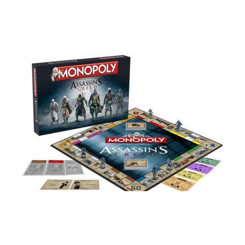 MONOPOLY ASSASSINS CREED cod 5036905021449