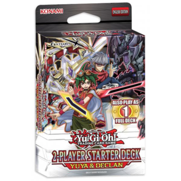 YUGIOH STARTER DECK YUYA&DECLAN cod 4012927443217
