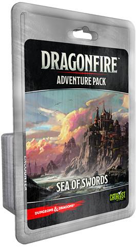 D&D DRAGONFIRE ADVENTURES - SEA OF SWORDS - EN