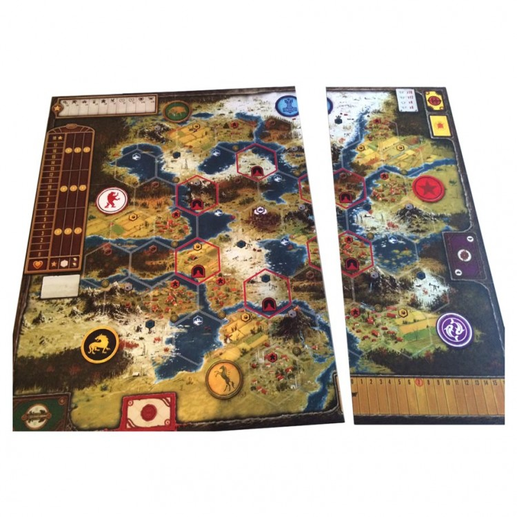 Scythe Game Board Extension