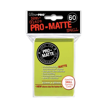 Ultra Pro - Small Sleeves - Pro-Matte - Bright Yellow(60 Sleeves)