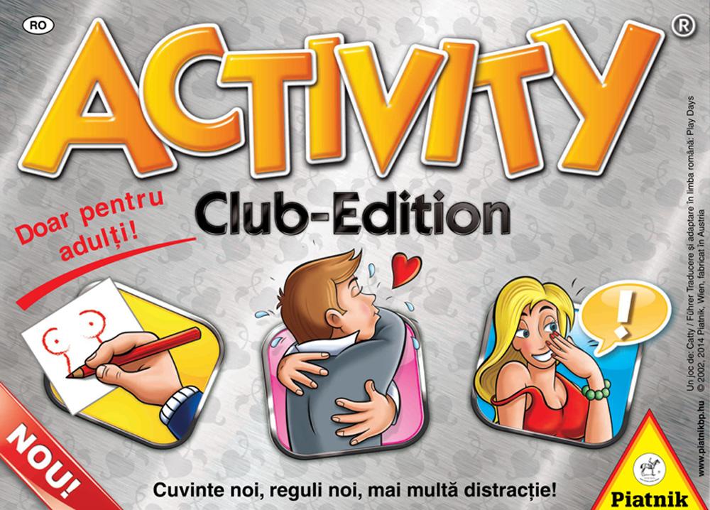 Activity Club Edition 18+ editia in limba romana