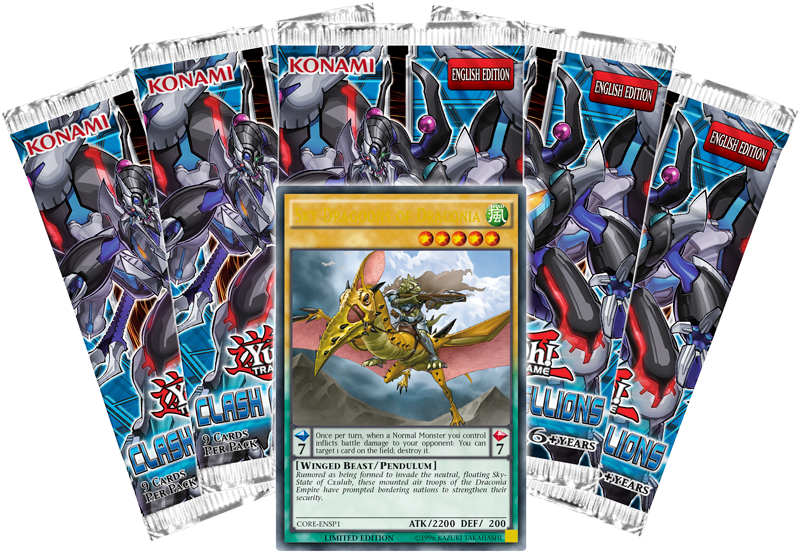 YUGIOH CLASH OF REBELLIONS BOOSTER