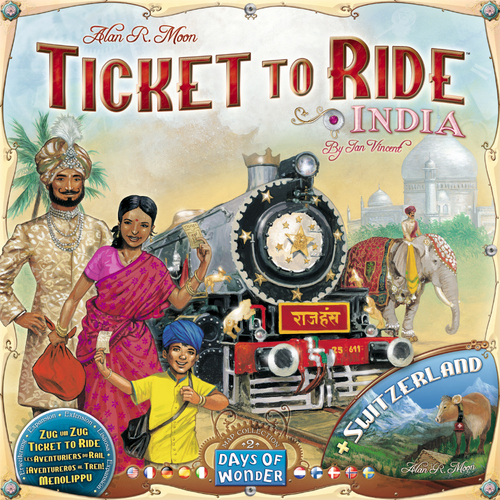 TICKET TO RIDE MAP COLLECTION 2 INDIA