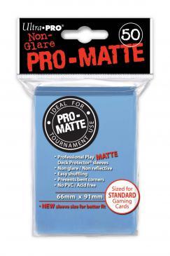 ULTRA PRO SLEEVES PRO MATTE BLUE