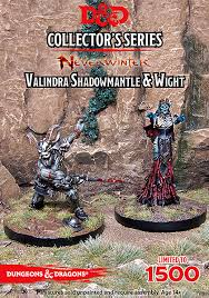D&D Collectors Valindra Shadowmantle&Wight