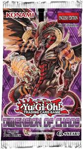YU-GI-OH DIMENSION OF CHAOS BOOSTER